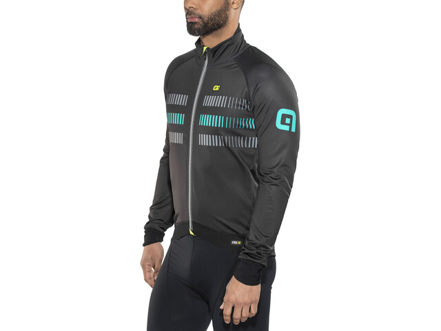 Alé Cycling Graphics PRR Strada 2.0 Jacket Men black-petrol green